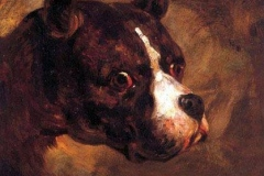 1781-1824-Head-of-a-Bulldog-Theodore-Gericault