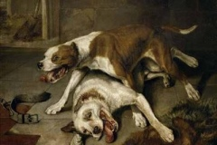 Fighting-Dogs-Catching-their-Breath-painting-by-Sir-Edwin-Henry-Landseer-in-1839