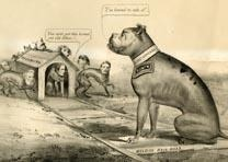 A-political-cartoon-of-Grant-and-Lee-1864