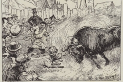 Bull-Baiting.-Illustration-for-The-Life-of-a-Century-1800-to-1900-by-Edwin-Hodder-George-Newnes-1901.