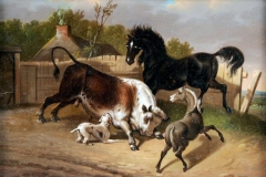 BULL-BAITING-BY-BRITISH-ARTIST-JAMES-WARD-1769-1859