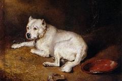 1850-1870-A-Staffordshire-Bull-Terrier-Edwin-Henry-Landseer