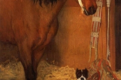 1861-At-the-Stables-Horse-and-Dog-Edgar-Degass
